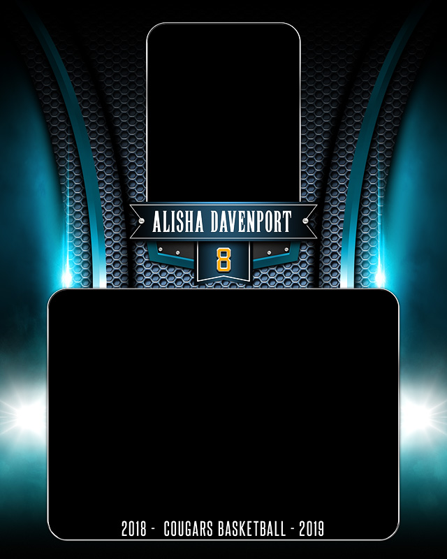 MEMORY MATE - VERTICAL - ARCHED METAL - CUSTOM PHOTOSHOP LAYERED MEMORY MATE TEMPLATE FOR ALL SPORTS