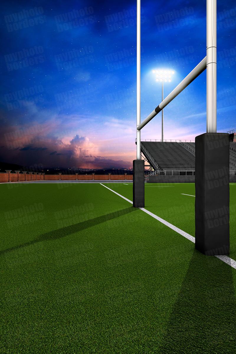 digital sports background - home turf