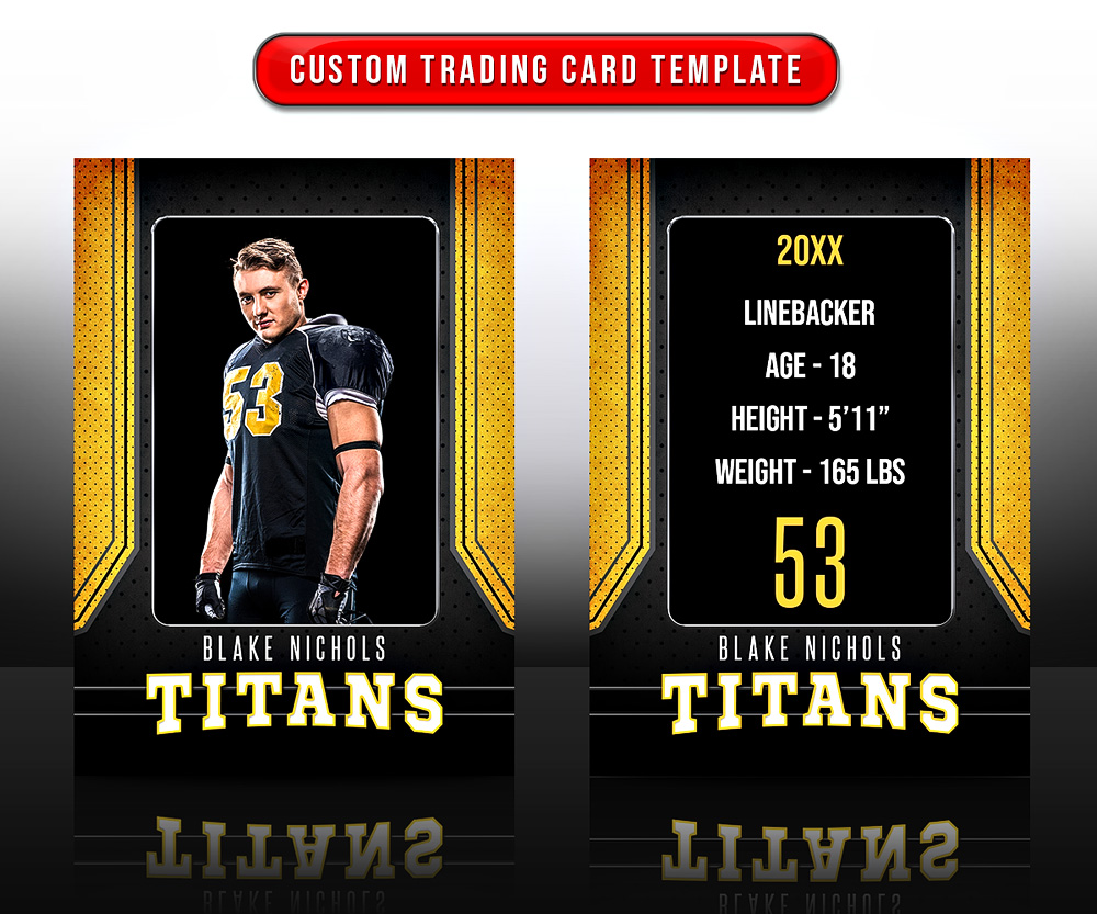 MULTI-SPORT TRADING CARDS AND 5X7 TEMPLATE - CONNECT