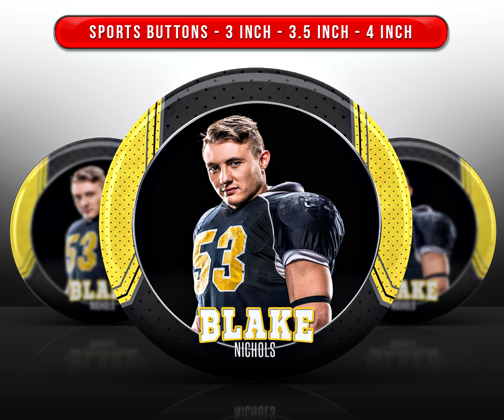 SPORTS PHOTO BUTTON TEMPLATES - CONNECT