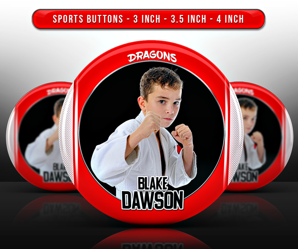 SPORTS PHOTO BUTTON TEMPLATES - CENTER FORCE