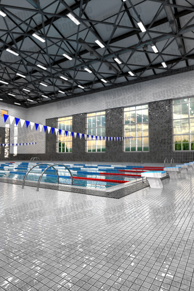 DIGITAL BACKGROUND - SWIM CENTER