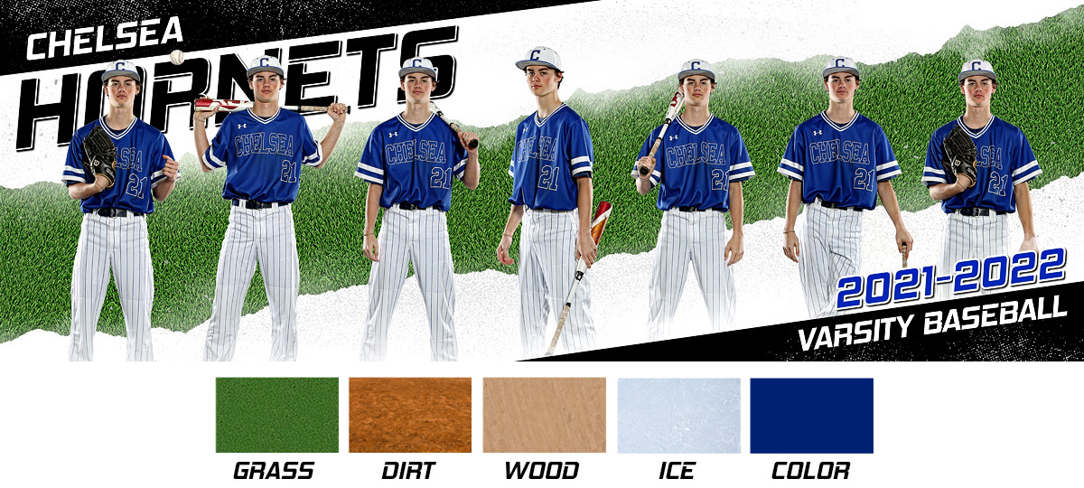 MULTI-SPORT PANORAMIC SPORTS BANNER TEMPLATE - SPLIT - PHOTOSHOP LAYERED SPORTS TEMPLATE