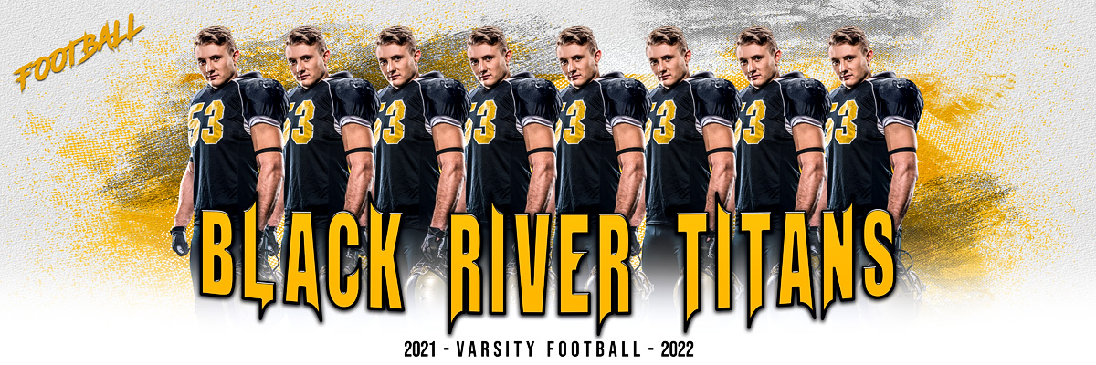 MULTI-SPORT PANORAMIC SPORTS BANNER TEMPLATE - GRUNGE - PHOTOSHOP LAYERED SPORTS TEMPLATE