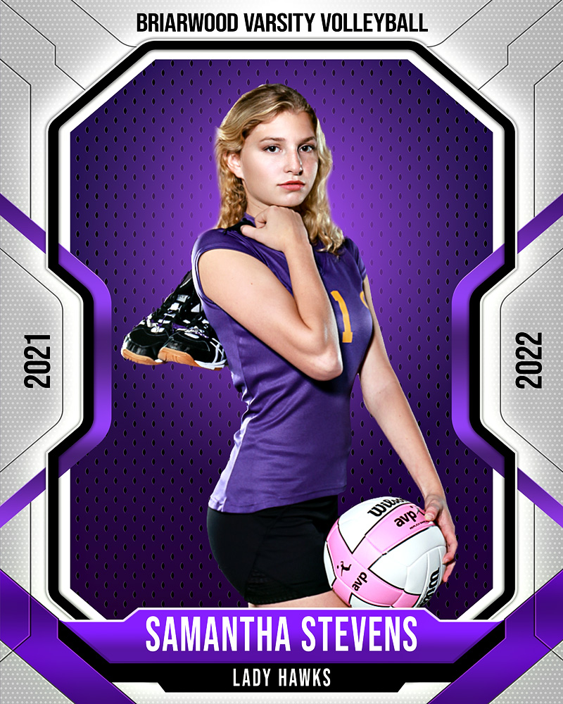 16x20 MULTI-SPORT POSTER TEMPLATE - FRAMED - CUSTOM PHOTOSHOP LAYERED SPORTS TEMPLATE