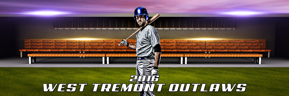 panoramic sports team banner photo template for baseball softball