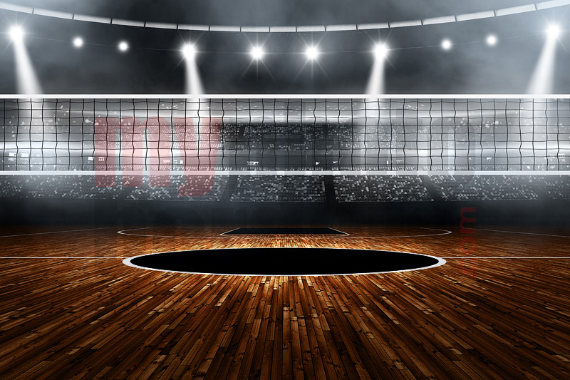 Volleyball Backgrounds: Digital Sports Background