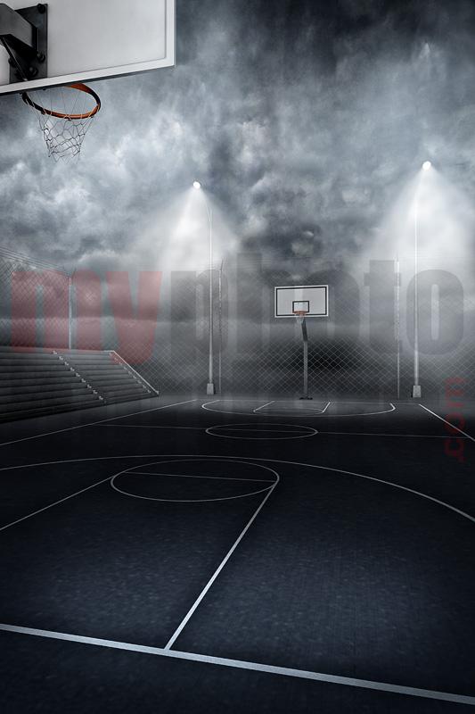 Digital Sports Background Streetball