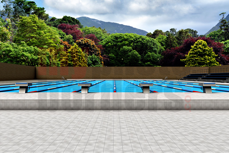 DIGITAL BACKGROUND - SWIMMING POOL - HORIZONTAL