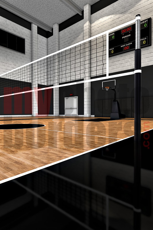 DIGITAL BACKGROUND - VOLLEYBALL COURT II