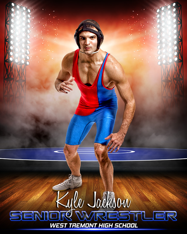 21abcc855873 SPORTS POSTER PHOTO TEMPLATE - PRIME TIME WRESTLING