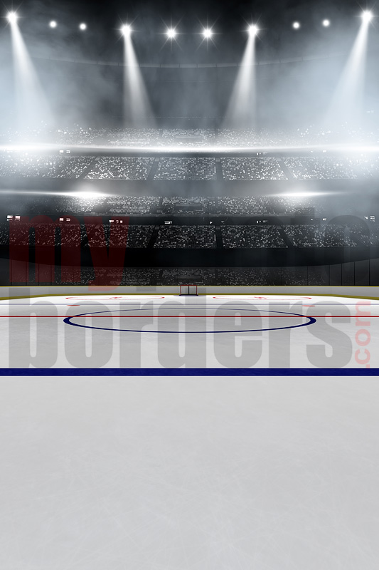 DIGITAL BACKGROUND - HOCKEY  STADIUM