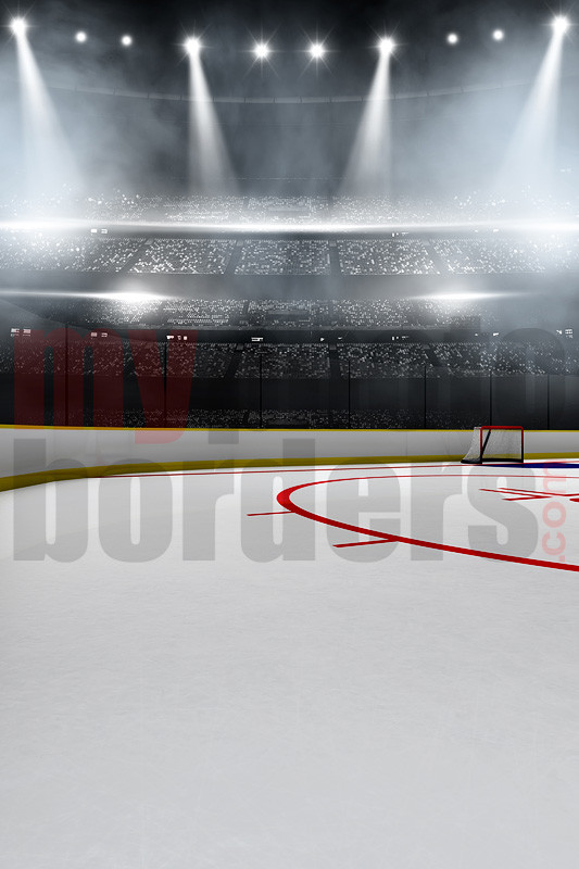 DIGITAL BACKGROUND - HOCKEY STADIUM II