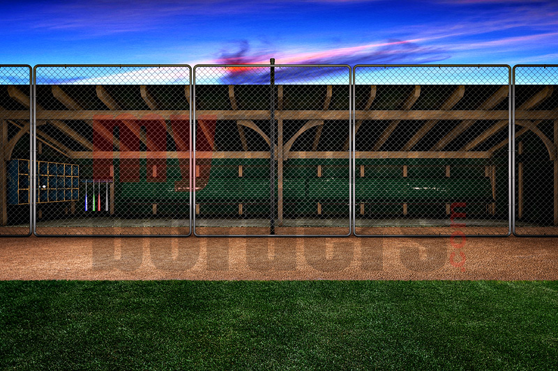 DIGITAL BACKGROUND - DUGOUT - HORIZONTAL