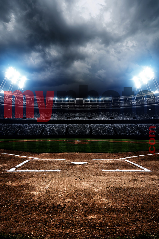 DIGITAL BACKGROUND - AMERICAN BASEBALL