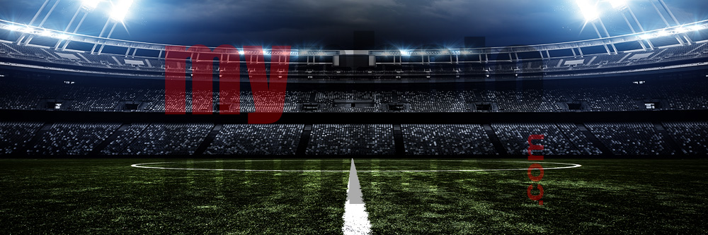 DIGITAL BACKGROUND - AMERICAN SOCCER - PANORAMIC