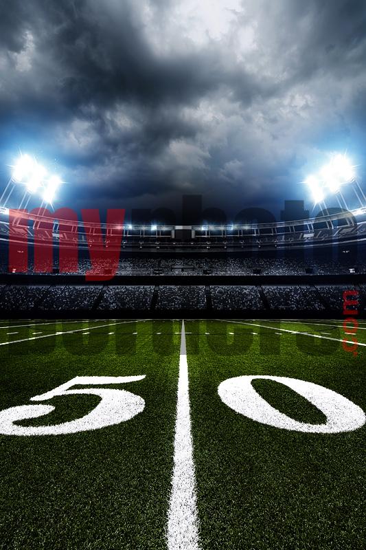 DIGITAL BACKGROUND - AMERICAN FOOTBALL