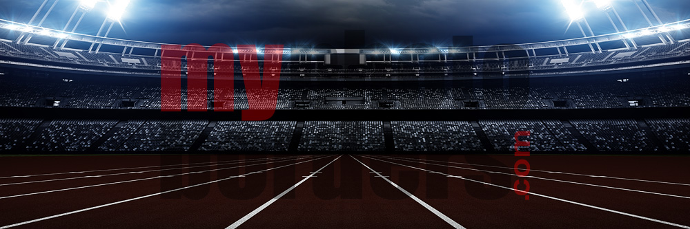 American Track & Field Digital Sports Background