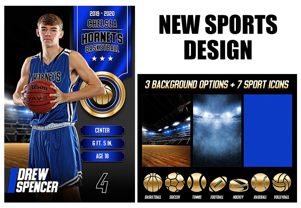 New Multi-Sport Design