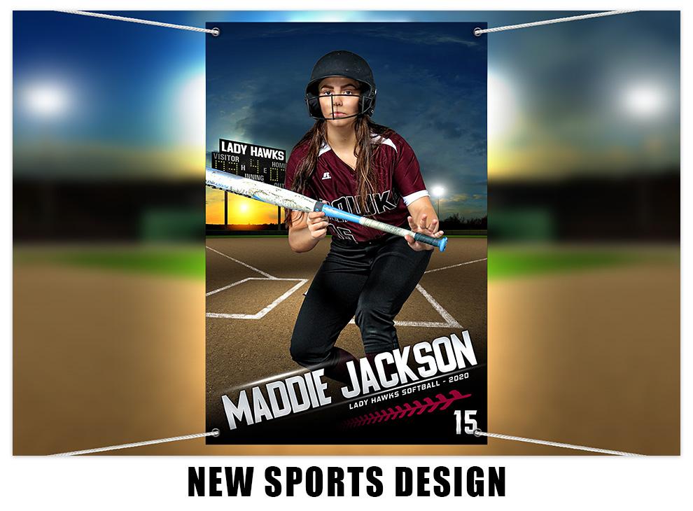 New Custom Sports Design at My Photo Borders