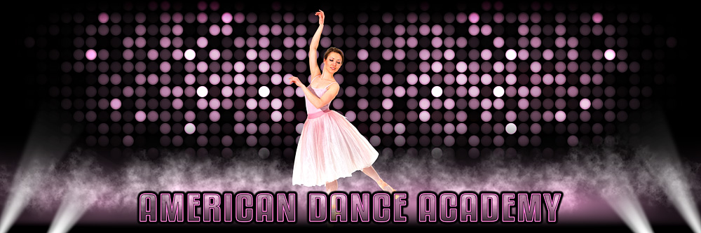 Panoramic Banner Photo Template For Dance or Cheerleading