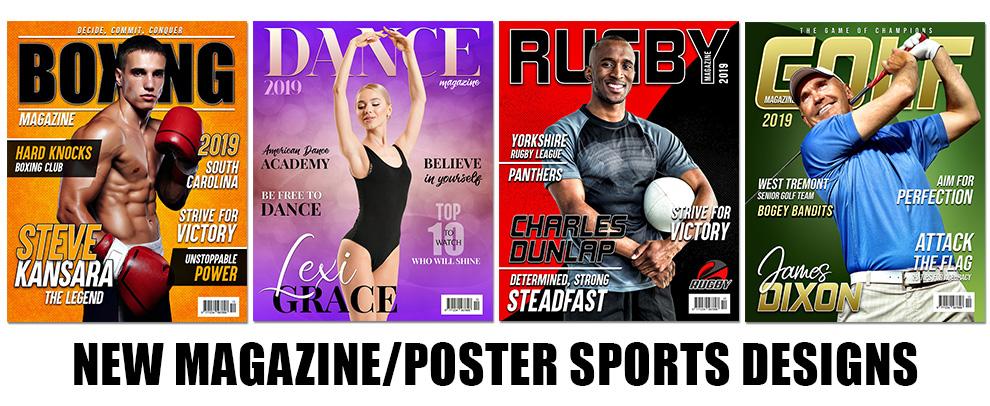 New Magazine/Poster Designs