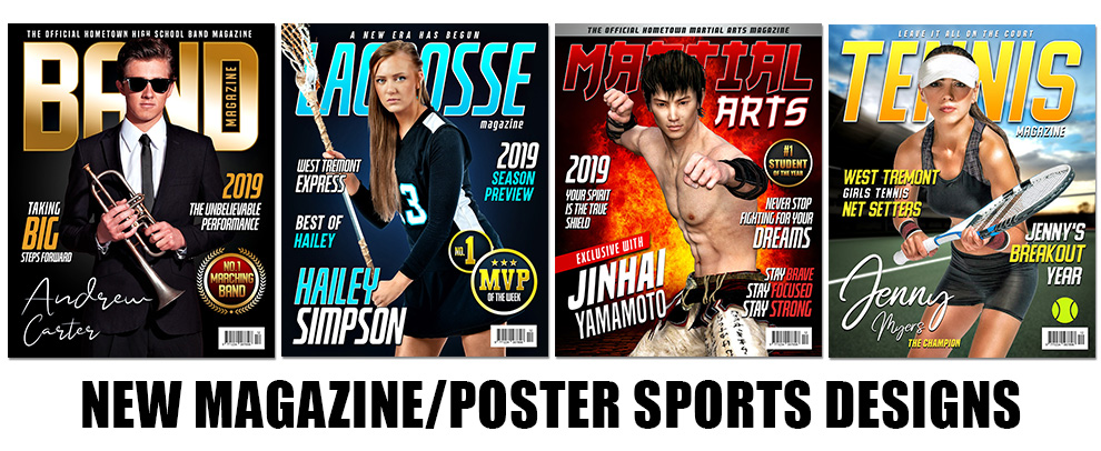 New Magazine/Poster Designs