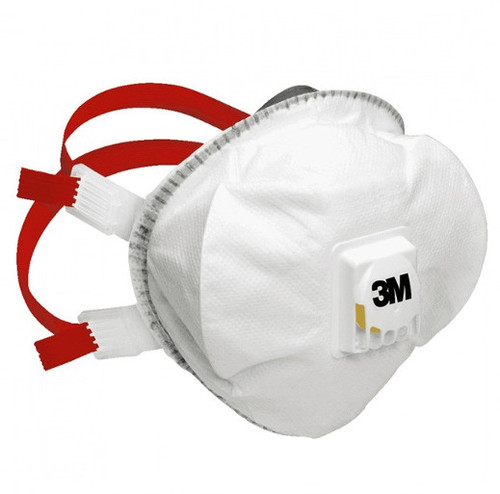 3M 8835+ FFP3 Respirator Face Mask (Single Mask)
