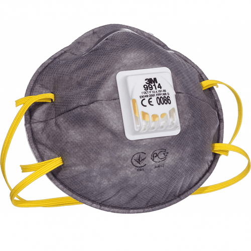 3M 9914  Valved Disposable Face Mask Respirator FFP1 (Single Mask)