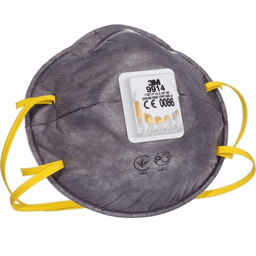 3M 9914  Valved Disposable Face Mask Respirator FFP1 (Single Mask)