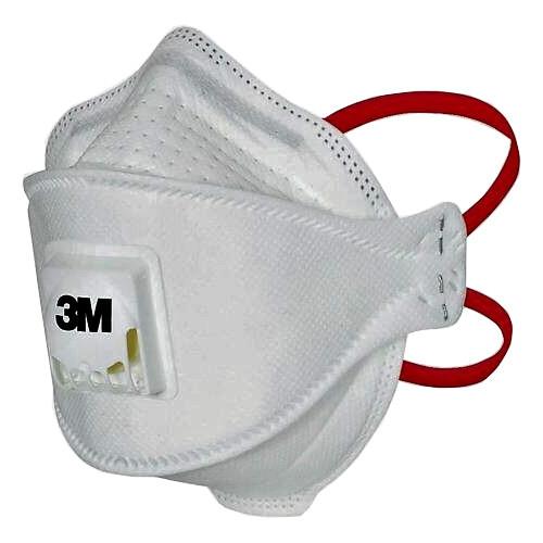 3M Aura 1873v FFP3 Respirator Face Mask with Valve - Made in UK