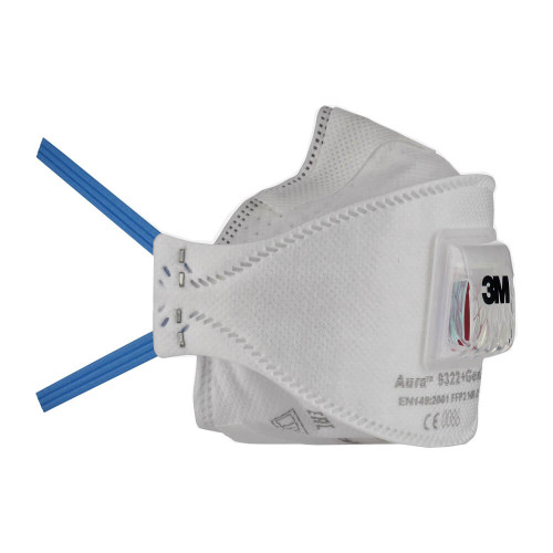 3M Aura 9322+ Gen3 FFP2 Respirator Face Mask (Single Mask)