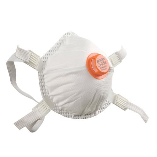 Alpha Solway 3030V Valved FFP3 Face Mask Respirator (Pack of Five)