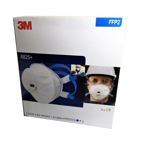 3M 8825+ FFP2 Respirator Face Mask (Box of 5)