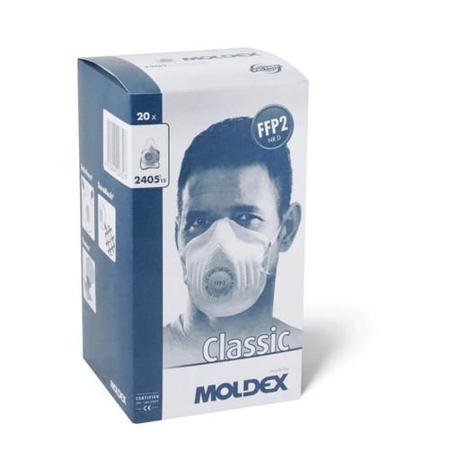 Moldex 2405 FFP2 Face Mask Respirator - Box of 20