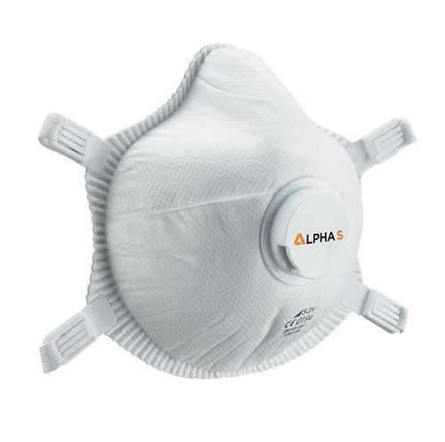 Alpha Solway S-3V Valved FFP3 Face Mask Respirator (Pack of Five)