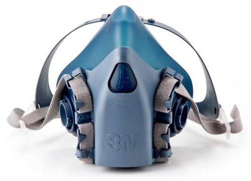 3M 7503 Half Mask Reusable Respirator - Large