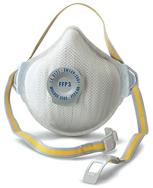 Moldex 3505 FFP3 Air Plus Face Mask Valved (Box of 5 Respirators)