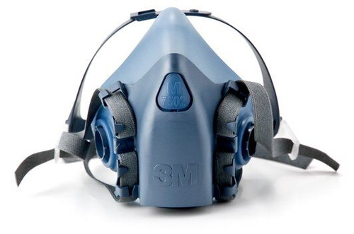 3M 7502 Half Mask Reusable Respirator - Medium