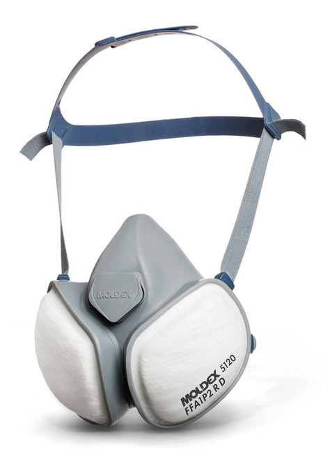 Moldex 5120 FFA1P2 R D Half Face Mask Respirator