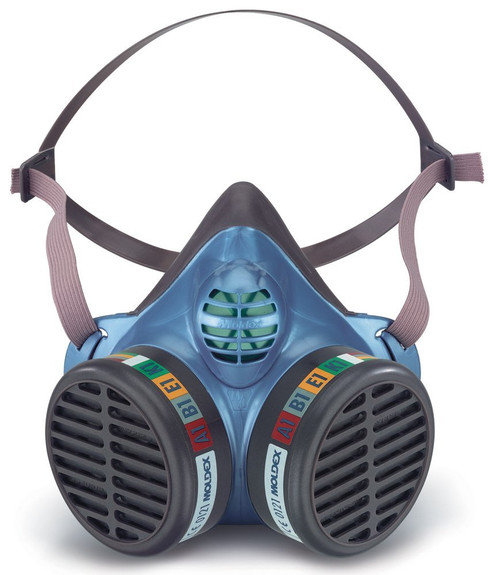 Moldex 5904 Size Medium/Large FF A1B1E1K1 Resuable Half Mask
