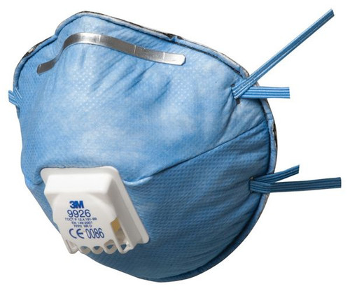 3M 9926 FFP2 Valved Nuisance Level Respirator (Box of 10 Face Masks)