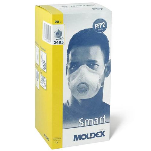 Moldex 2485 FFP2 Face Mask Respirator - Box of 20