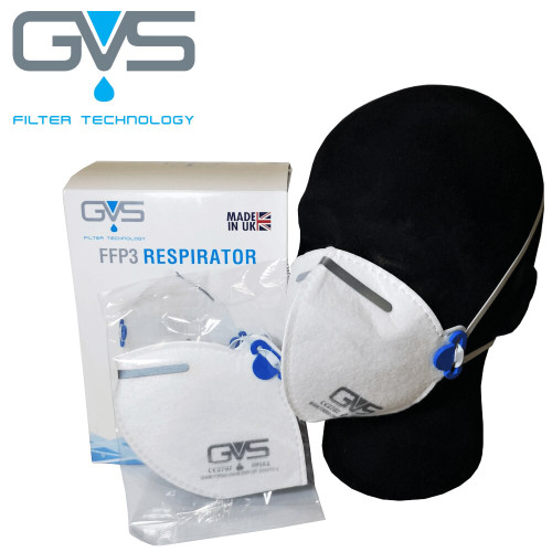 GVS Segre FFP3 Reusable Face Mask F31000 - Single Mask