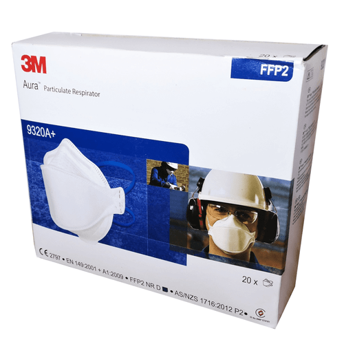 3M 9320A+ Face Mask Respirator FFP2 Protection (Box of 20 masks)