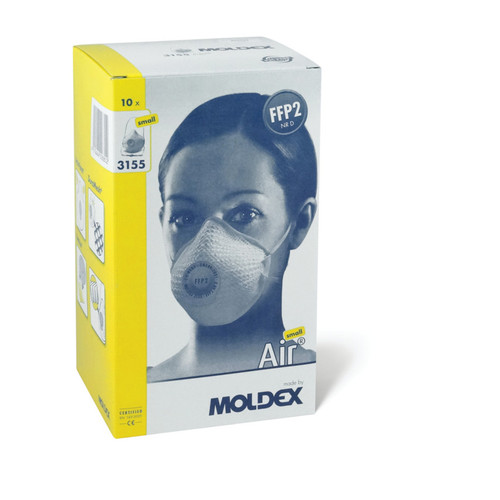 Moldex 3155 Air FFP2 Dust Mask Small (Box of 10)