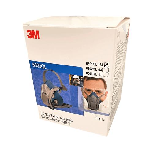 3M 6501QL 6500 Series Half Mask - Small