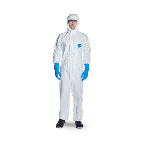 DuPont Tyvek 500 Xpert White Chemical Coverall - X Large (XL)
