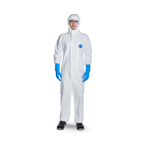 DuPont Tyvek 500 Xpert White Chemical Coverall - Large (L)