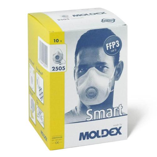 Moldex 2505 FFP3 Valved Face Mask - Box of 10 Respirators